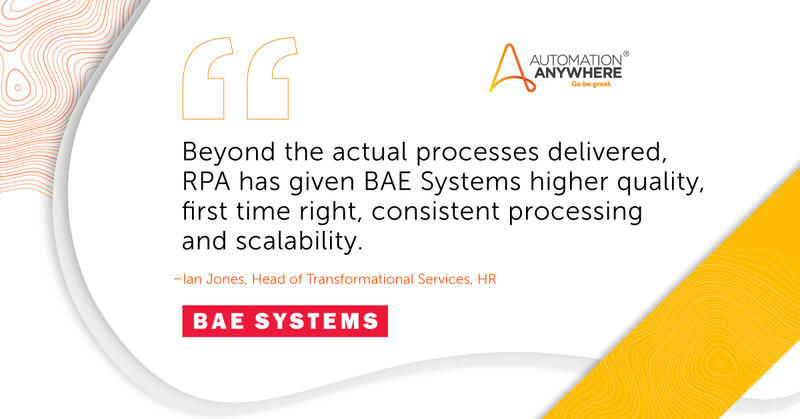 AE Shared Services Team Soars to New Performance Heights with Automation