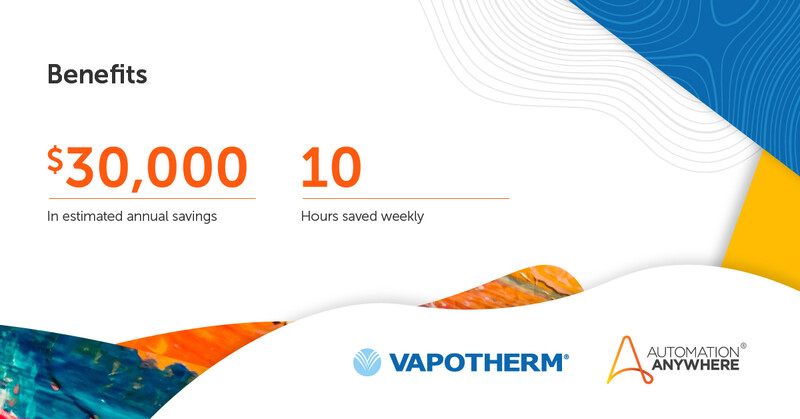 Vapotherm Helps Save Lives While Achieving 94% Increase in Efficiency with Enterprise A2019